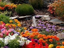 Фонтаны на садовом участке