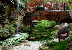 Оптическая иллюзия как приём оформления сада