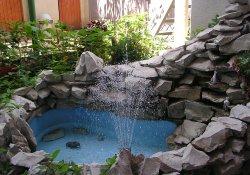 Устройство фонтана на садовом участке