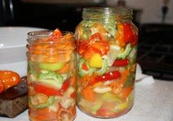 Маринование овощей
