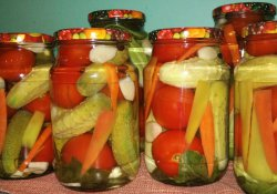 Овощное ассорти